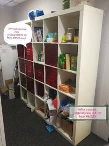 Ikean kallax cabinet