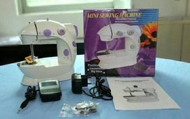 New Set sewing machine / mesin jahit mini dkt