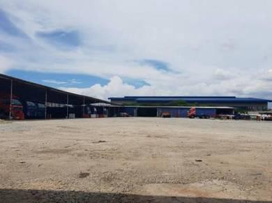 Warehouse for rent at telok gong, port klang, selangor