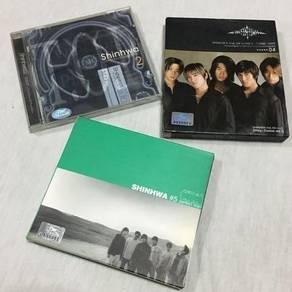 Shinhwa -Album 2,4 & 5