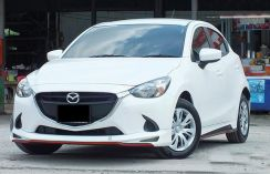 New Mazda 2 Hatchback skirting bodykit