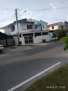 Double Storey Semi Detached House,Pin Fook Garden, Jalan Calycina Miri