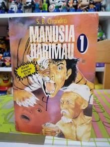 Novel Seram Manusia Harimau 1 S B Chandra