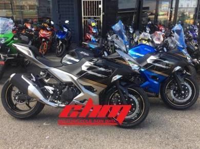 2018 Kawasaki ninja new color