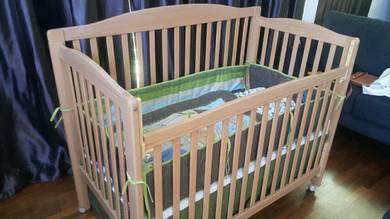Baby crib cot full set