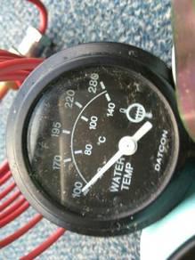 Meter temp. bat. oil. water temp.
