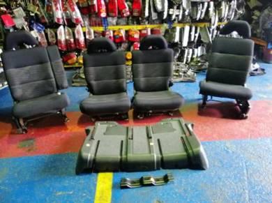 JDM Daihatsu L9 Move Peanut Seat Set