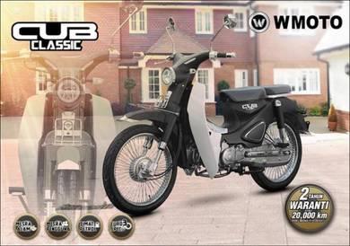 Wmotor cub classic 110 new model 2019