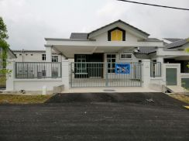 Rumah Teres Setingkat Baru End Lot - Sungai Udang, Melaka