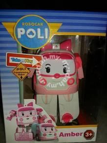RoboCar Poli Amber Toy