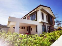 New Project Double Storey Terrace House