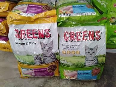 Green Cat Food