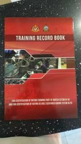 Training record book marine department