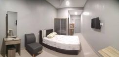 Hotel standard room for rent Ipoh town