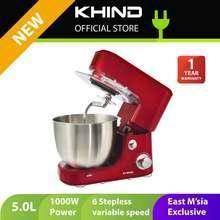 Khind 1000w 5l stand mixer sm506p