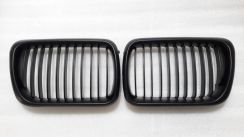 Bmw E36 All Black Front Grill NEW FREE POS