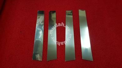 Proton iriz chrome pillar chrome