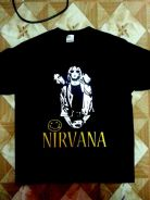 New NIRVANA shirt