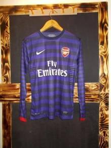 Arsenal long sleeve 13-14 away stock lama jersey