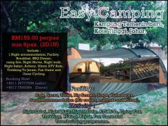 Easy camping package