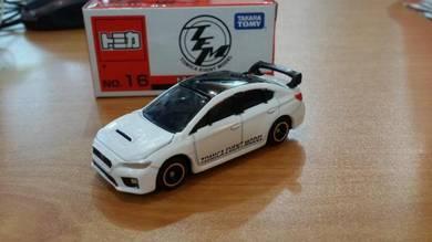 Tomica Subaru WRX STI Type S No.16