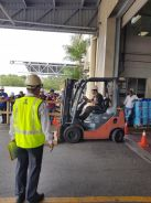 Forklift drivers training