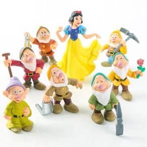 Princess Snow White And Seven Dwarfs Action Figure