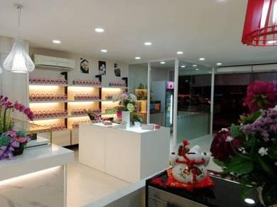 1,330 sqft Ground Floor Shop Lot on Jln Pasar Baru Kg Air