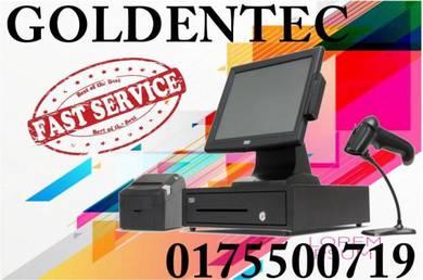 Pos system cash machine for retail n fnb