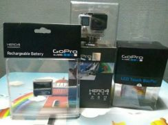 Gopro New Inbox Full Set With LCD And Plus Battery