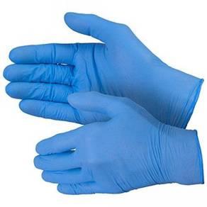 Powder free nitrile glove 100 % latex free