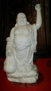 Chinese white porcelain laughing buddha SLG