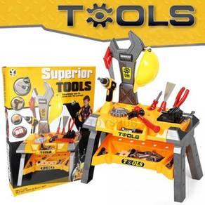 Tools Workshop Bench Station DIY Toy Set