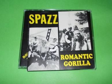 CD SPAZZ / ROMANTIC GORILLA Split Album (1996)