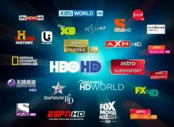 FullHD Global & XTRO Premium Channel Tv Box Decode