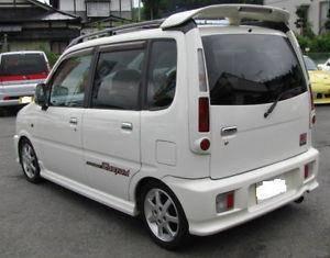 Daihatsu move aerodown limited spoiler