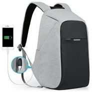 New Anti Theft USB Charging Backpack Travel Bag 01