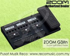 Zoom G3Xn Guitar Multi Effect Pedal -Free Adapter