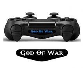 God of war ps4 controller led sticker