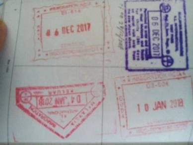Work permit and visa