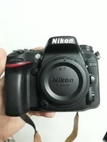 Nikon D7100 Sc 8K only Full Box