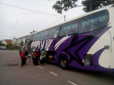 Penginapan group bus sekolah