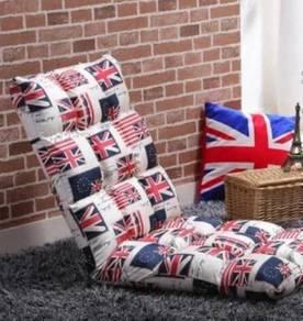 Union Flag Adjustable Reclining Large Sofa Chair