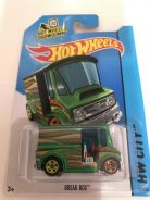 Hot Wheels Bread Box (Green)