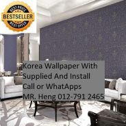 Pretty Wallcovering with Installation dfyrty45487