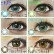 Enlarge Eyes Cosmetic Colorful contact lenses