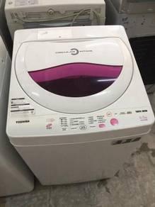 6.5kg toshiba washing machine top mesin basuh aa