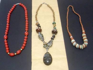 Retro Necklaces - Set of 3