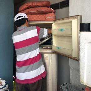 Repair baiki mesin basuh peti ais peti sejuk