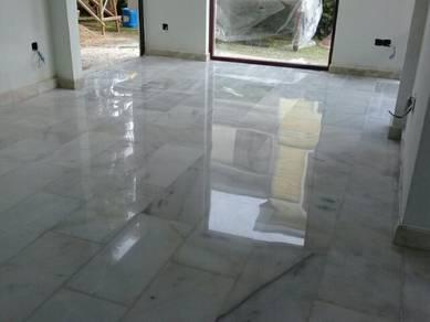 Marble polishing parquet polish